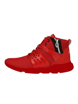 red mesh sport shoes - 16275782 - Standard Image - 2