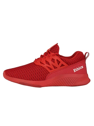 red mesh sport shoes - 16275786 - Standard Image - 2