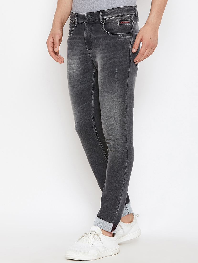 f9db03df Buy Grey Light Washed Jeans for Men from Canary London for ₹1889 at ...