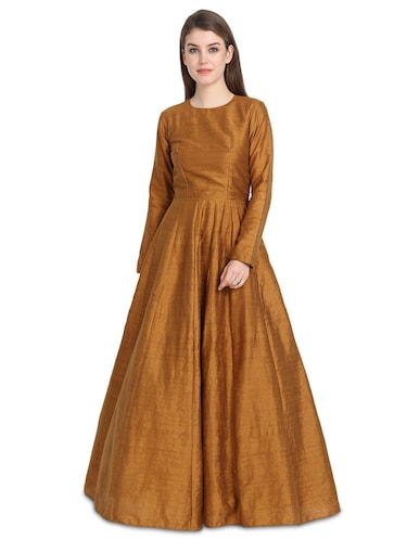 2c4119fb9f Buy Yellow Colour Gown For Women Party Wear In India @ Limeroad