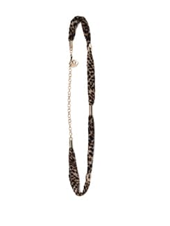 Brown Tiger Print Belt - Addons