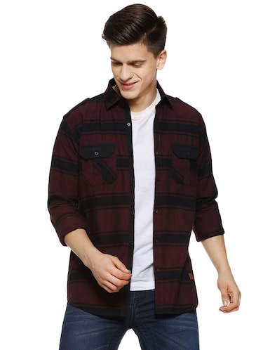 61269215 Casual Shirts - Buy Linen & Denim Casual Shirts for Men at Limeroad