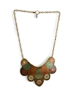 Chunky Multicoloured Necklace - Addons