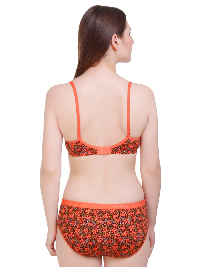 detachable strap bras and panty set - 16619171 - Zoom Image - 2