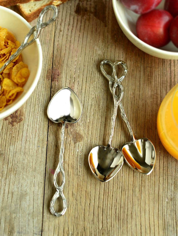 Heart Shaped Coffee Spoon- Set Of 4 - Horizon