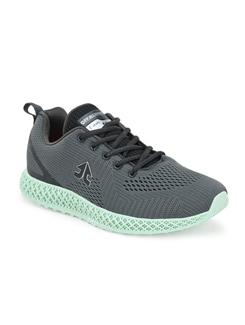 grey mesh sport shoes