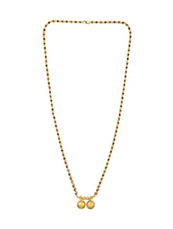 gold metal mangalsutra