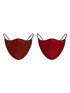 set of 2 anti-pollution masks
