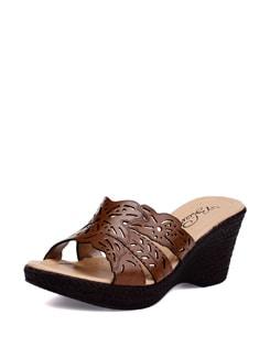 Brown Everyday Sandals - La Briza
