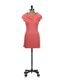 Orange Off Shoulder Dress - SPECIES
