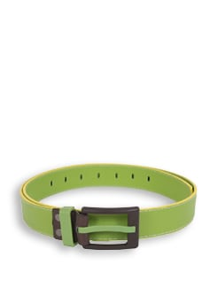 Olive Green And Yellow Belt - Lino Perros