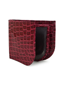 red leatherette (pu wallet
