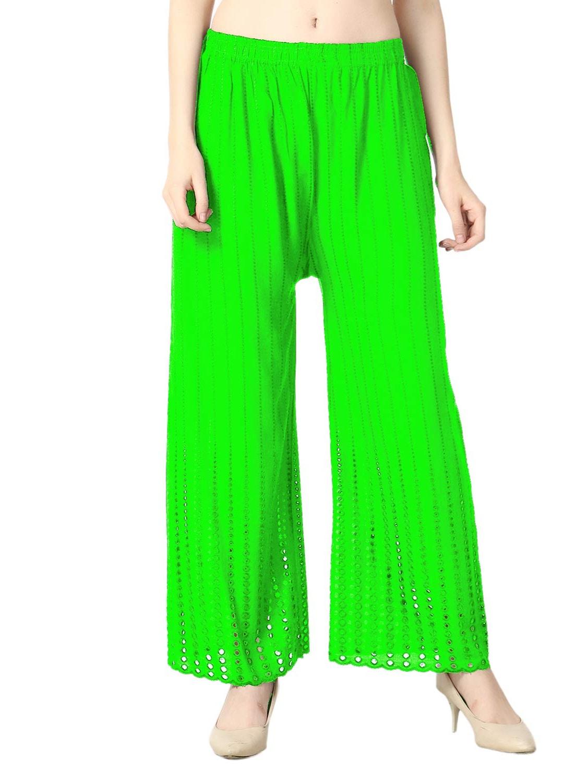 cloera women green palazzo