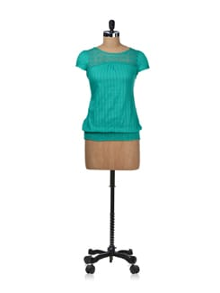 Vibrant Green Top - STYLE QUOTIENT BY NOI