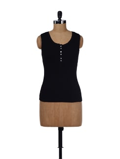 Black Cotton Jersey - Evolution