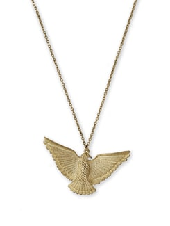 Egyptian Eagle Necklace - THE PARI