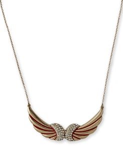 Gold Winged Necklace - THE PARI