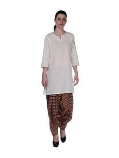 Multicoloured Check Patiala Salwar - Home Of Impression