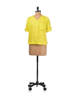 Trendy Lemon Color Top - Femella