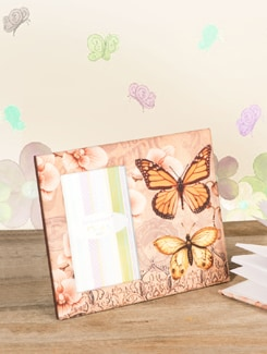 Butterfly Photo Frame - TREASURE  HUNT