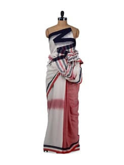 Contemporary Saree - Story Of Weaves