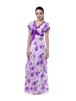 9a6d3f1105b Buy Lavender Long Nighty for Women from Privatelives for ₹999 at 0 ...