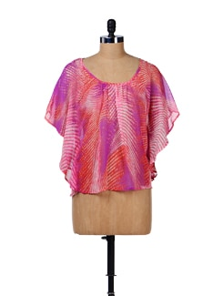 Vibrant Kaftan Top - House Of Tantrums