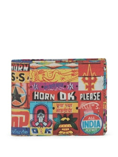Horn OK Print Wallet - Mad(e) In India