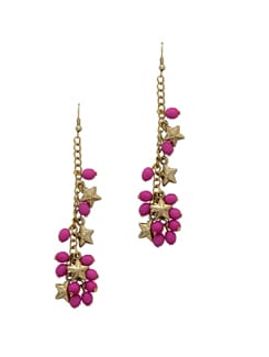 Pink Star Earring - Blend Fashion Accessories