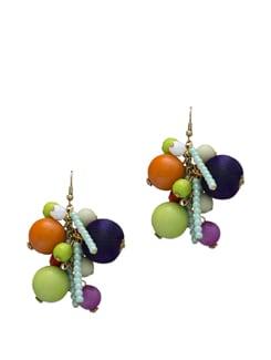 Colour Bunch Earring - Blend Fashion Accessories