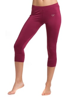 Berry Stretch Capri Pants - PrettySecrets