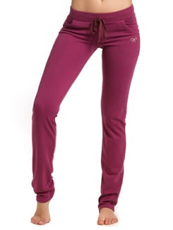Berry Comfy Sweat Pants - PrettySecrets