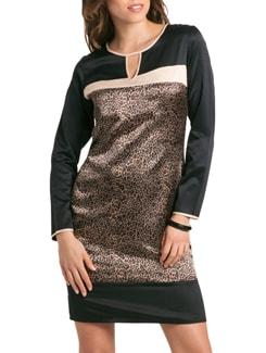 Black Gold Safari Shift Dress - PrettySecrets