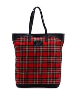 Red Aster Tote - Ivory Tag
