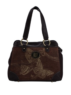 Butterfly Gale Satchel - Ivory Tag