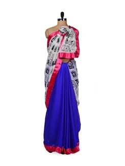 Camera Print Saree - ROOP KASHISH