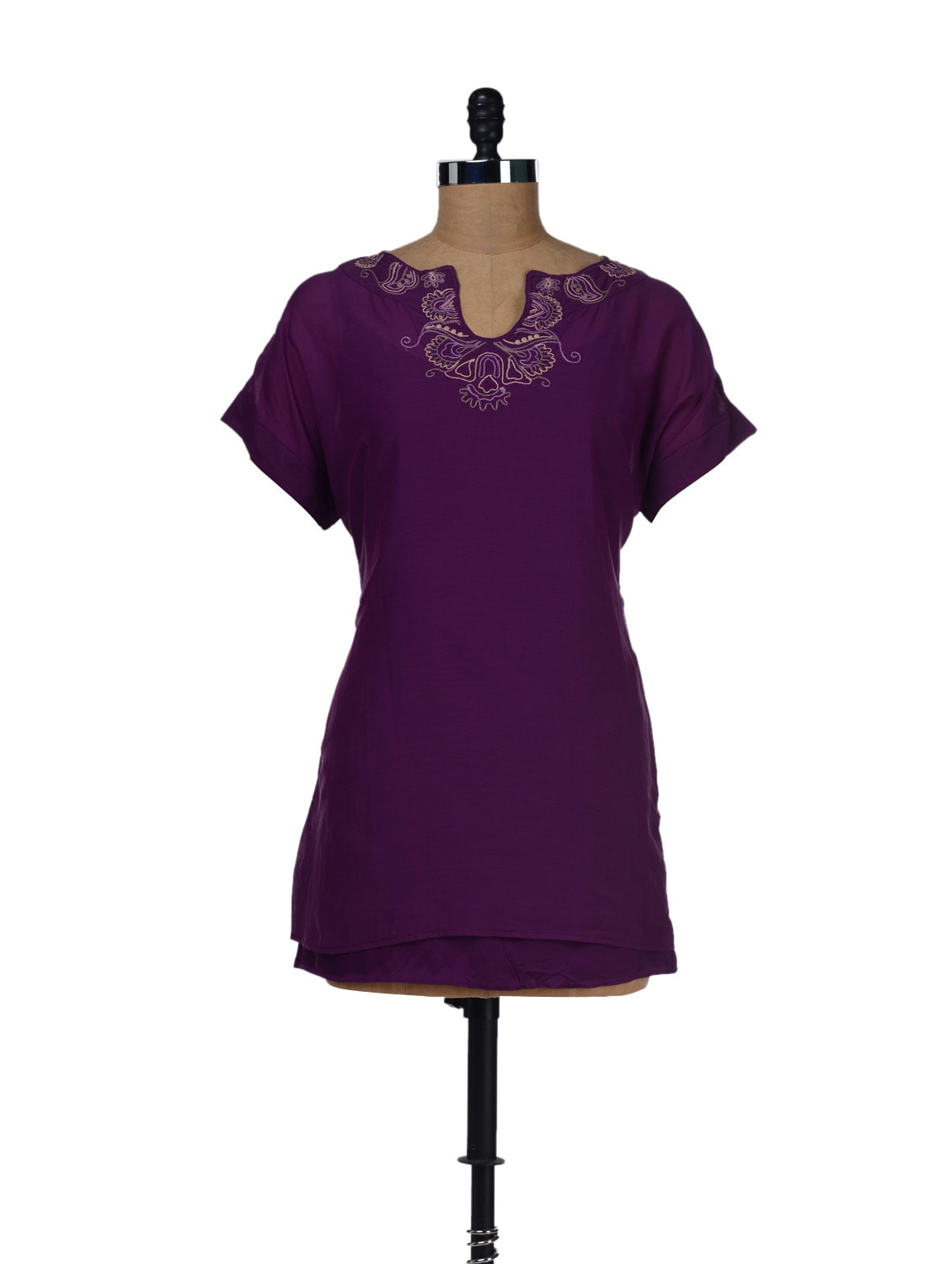 Embroidered Cotton Top - LY2