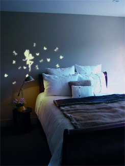 Glow-In-The-Dark Fairy Wall Sticker - Home Decor Line
