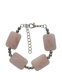 Elegant Baby Pink Bracelet - Ivory Tag