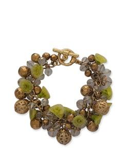 Yellow Florentine Bracelet - Ivory Tag