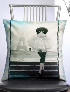 Vintage Charm- Printed Cushion Cover - Veva's