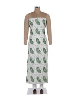 Paisley & Mokaish Embellished Unstitched Kurta - Ada