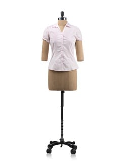 Pink Tailored Shirt - Allen Solly