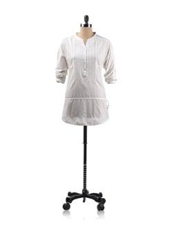 White Tunic Shirt - Allen Solly