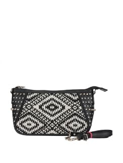 Aztec Print Mini Sling Bag - DESI DRAMA QUEEN