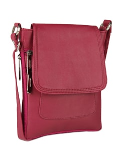 Trendy Red Satchel - ALESSIA