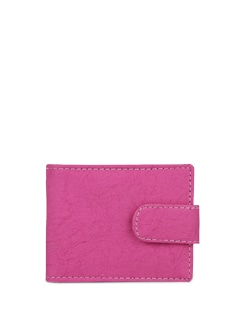 Bright Pink Multi Purpose Wallet - ALESSIA