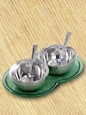 Silver Condiment Set - 7 Pieces - Awkenox