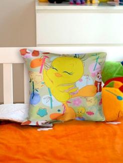 Tweety Cushion Cover - Warner Brothers By Mesleep