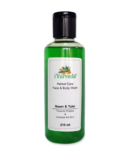 Neem And Tulsi Face And Body Wash - IYurveda
